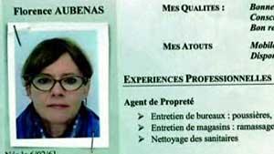 CV de Florence Aubenas