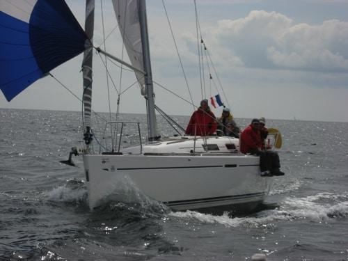 Au spi (pères en mer)