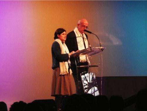 Claire Collignon et Ludovic Salvo