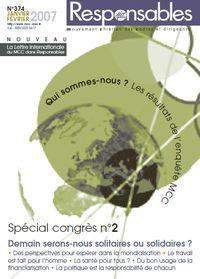 Janvier/Février 2007 - Spécial congrès n°2